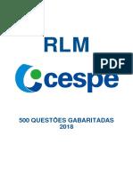 500 QUESTÕES GABARITADAS CESP - 2018.pdf