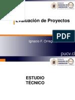 Curso Evaluación de Proyectos - Estudio Técnico