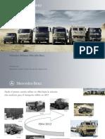 Vehículos Militares Mercedes-Benz.
