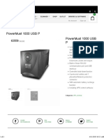 PowerMust 1000 USB P – Mustek