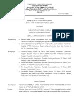 3.1.1.1. SK Indikator Mutu Dan Kinerja UPTD Puskesmas Cipari 2018