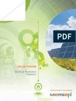 Ferraz Solar Power Electrical Protection Solutions Brochure