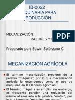 Ib-0022 Objetivos Mecanización