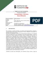 Seminario Fenomenologia Blanchot