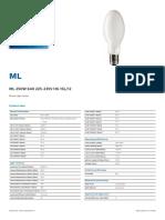 Light lamps ml250w Philips.pdf