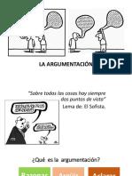 6.- La Argumentación Presentación