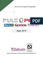 500-0119 - PULSO Mayo 2019 - Popularidad + Coyuntura
