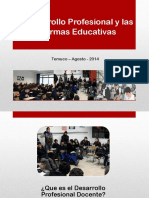 Desarrollo Profesional ReformasEducativas