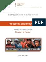 Guía N° 1 Proyecto Sociointegrador
