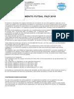 Reglamento Futsal Fadi 2018 1