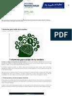 7 Vitaminas Para Cuidar de Tu Cerebro _ Prevencionar Colombia _ Prevencionar Colombia