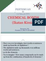 6. Chemical Bonds Part 1
