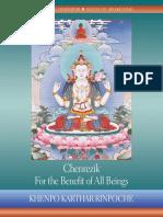 Chenrezik_ for the Benefit of All Beings - Khenpo Khartar Rinpoche