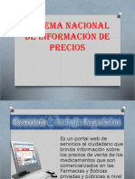 Sistema Nacional de Información de Precios