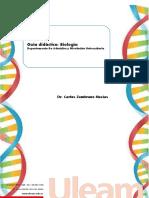 Guía Didáctica BIOLOGIA