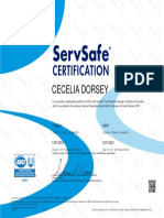 cecelia dorsey new certification