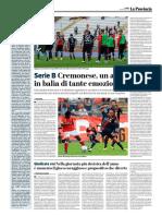 La Provincia Di Cremona 13-05-2019 - Serie B