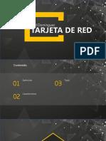 Tarjetas de Red
