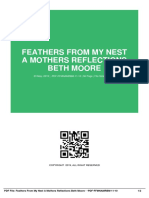 ID6f753febd-feathers from my nest a mothers reflections beth moore