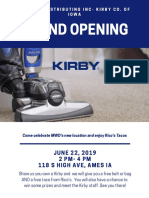 kirby grand opening