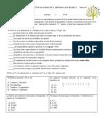 Prueba de Educación Matematica Séptimo Año Básico 29