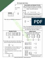 5th Class Math Notes