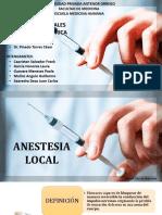 Anestesicos Locales 1