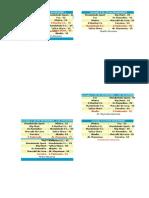 Calendario da liga local de fútbol sala - concello de Mondoñedo