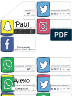 Solapines Redes Sociales