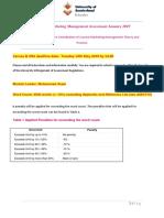 PGBM15 Marketing Management Assessment January 2019-1