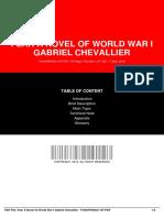 ID87f0af44c-fear a novel of world war i gabriel chevallier
