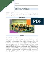 SESION de APRENDIZAJE Nro 2 Promocion Social Importancia, Perspectivas y Limitaciones (1)