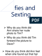 Selfies and Sexting