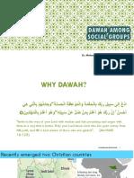 Dawah Among Social Groups