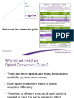 How to Use the Opioid Conversion Guide