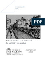 Espacio Público del siglo XXI  su realidad y prospectiva