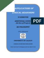 BA Philosophy - VI Sem. Additional course -  Applications of Logical Reasoning.pdf