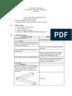 Detailed Lesson Plan DLP Format DATE Lea