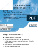 Design of Composite Steel Floor Systems for Severe Fires The Slab Panel Method.pdf
