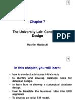 DB Design Casestudy Ch7