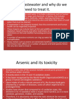Arsenic Removal From Wastewater