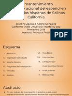 presentacion en espanol 2