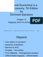 ME Ch10 Oligopoly Firm Architecture