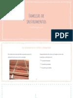 Familias Instrumentos