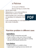 Nutrition in Pakistan and India