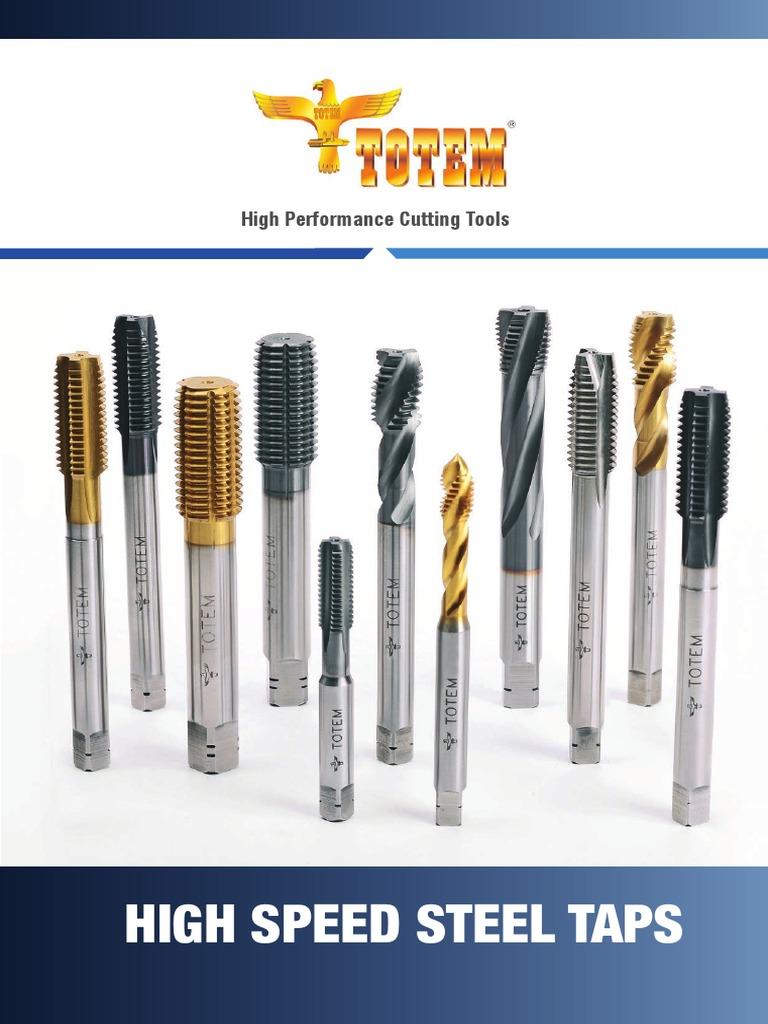 12-24 HSS Left Hand Bottom Ground Thread High Speed Steel Hand Tap Cutting Tools