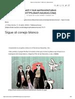 Sigue Al Conejo Blanco - Mati y Sus Mateaventuras