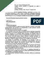 Hotărârea Guvernului Nr. 123-2015
