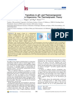 Collapse-To-Swelling Transitions in PH- And Thermoresponsive Microgels in Aqueous Dispersions the Thermodynamic Theory