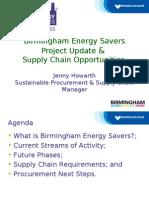 Birmingham Energy Savers Presentation